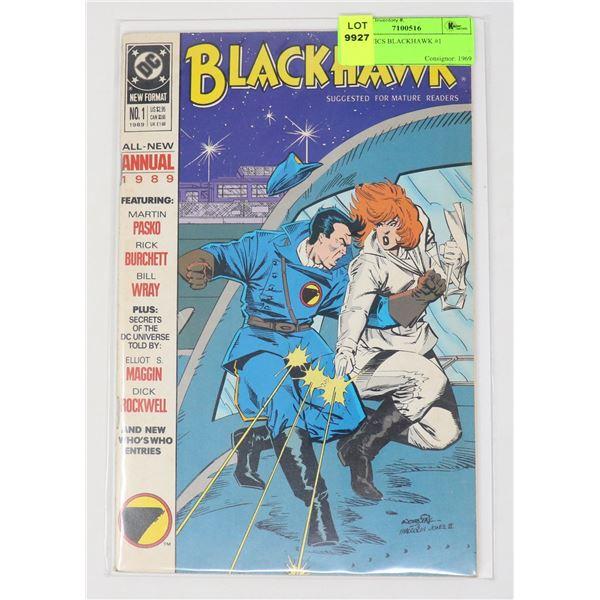 DC COMICS BLACKHAWK #1