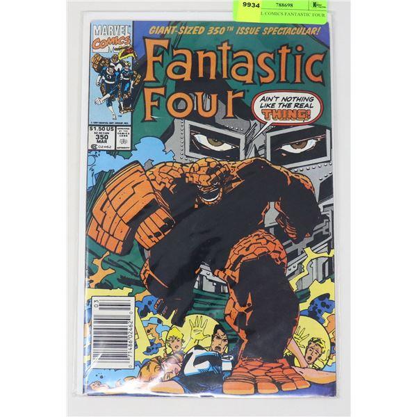MARVEL COMICS FANTASTIC FOUR #350