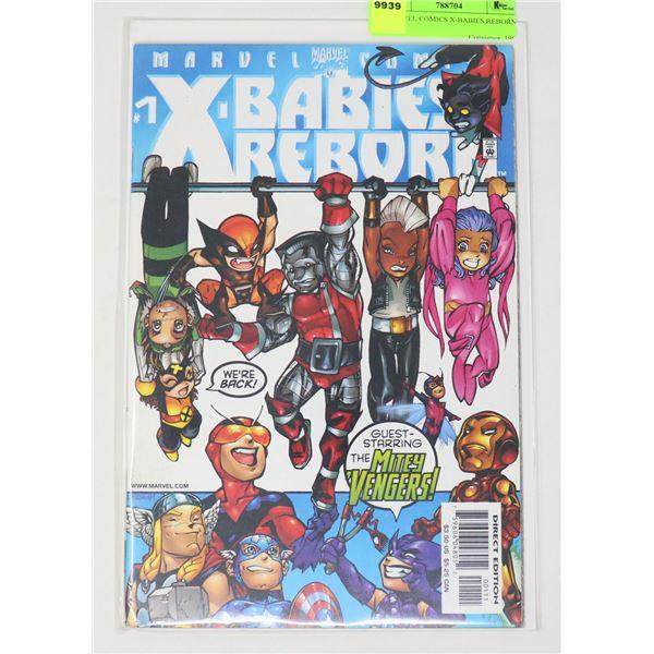 MARVEL COMICS X-BABIES REBORN #1