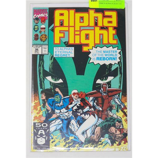 MARVEL COMICS ALPHA FLIGHT #96