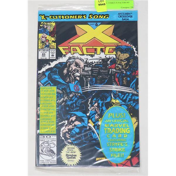 MARVEL COMICS X-FACTOR #85