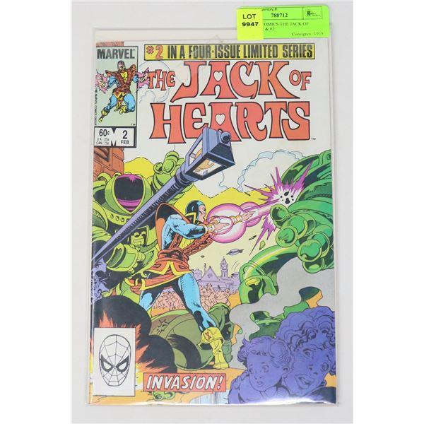 MARVEL COMICS THE JACK OF HEARTS #1 & #2
