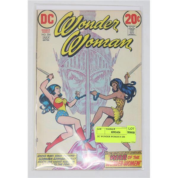 DC WONDER WOMAN # 206