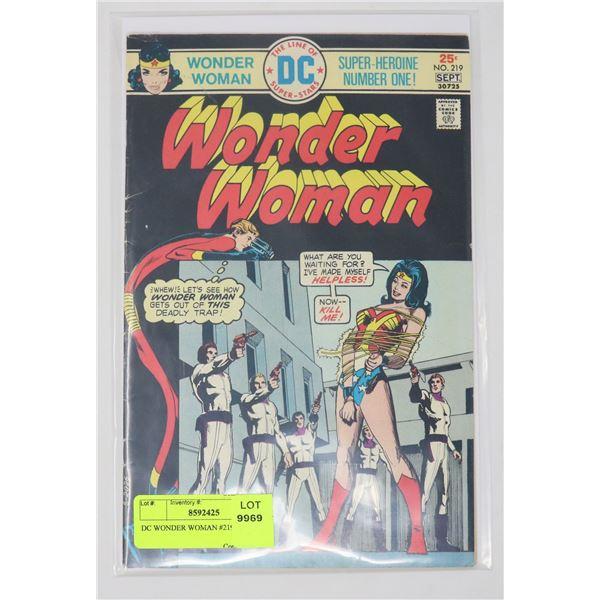 DC WONDER WOMAN #219