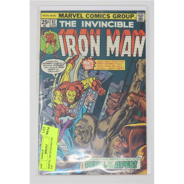 MARVEL THE INVINCIBLE IRON MAN # 82