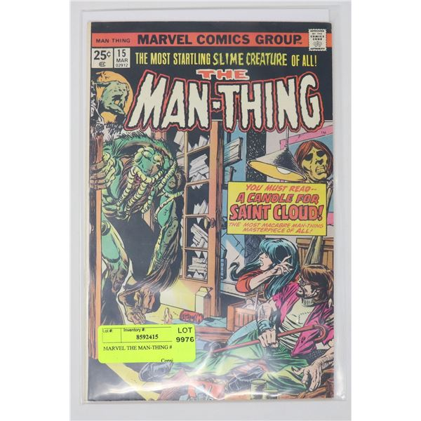MARVEL THE MAN-THING #15