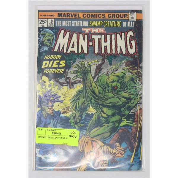MARVEL THE MAN-THING #10
