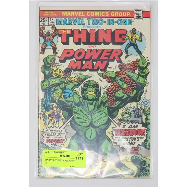 MARVEL THING AND POWER MAN # 13