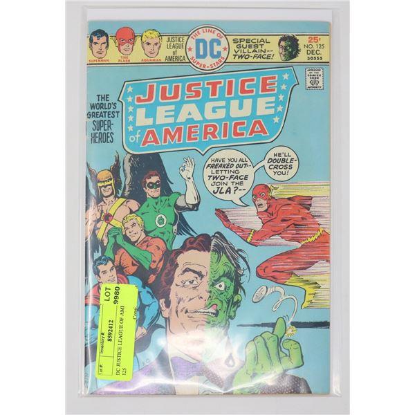 DC JUSTICE LEAGUE OF AMERICA # 125