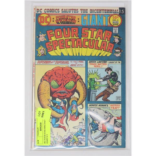 DC FOUR STAR SPECTACULAR GIANT # 3