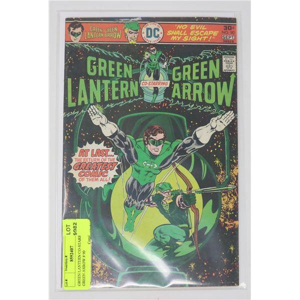 GREEN LANTERN CO-STARRING GREEN ARROW # 90