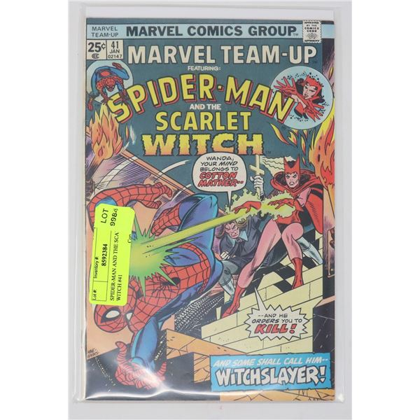 SPIDER-MAN AND THE SCARLET WITCH #41