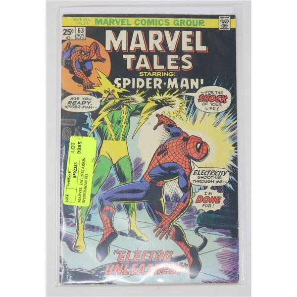MARVEL TALES STARRING SPIDER-MAN #63