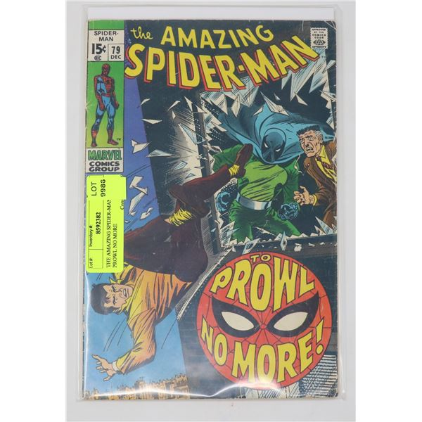 THE AMAZING SPIDER-MAN #79- TO PROWL NO MORE