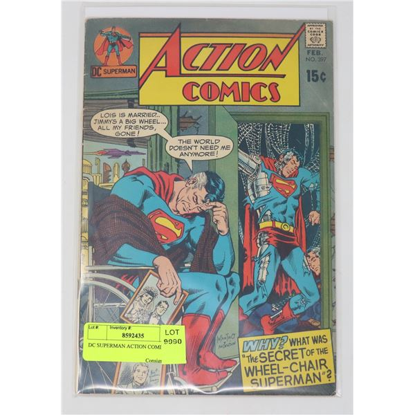 DC SUPERMAN ACTION COMICS # 397