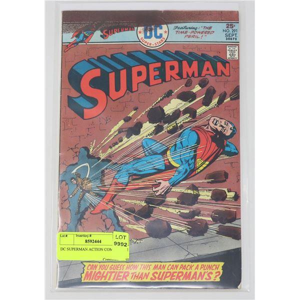 DC SUPERMAN ACTION COMICS # 291