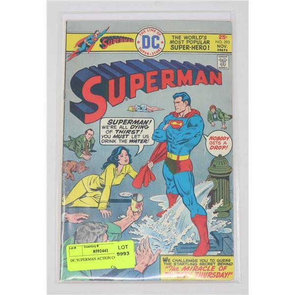 DC SUPERMAN ACTION COMICS # 293