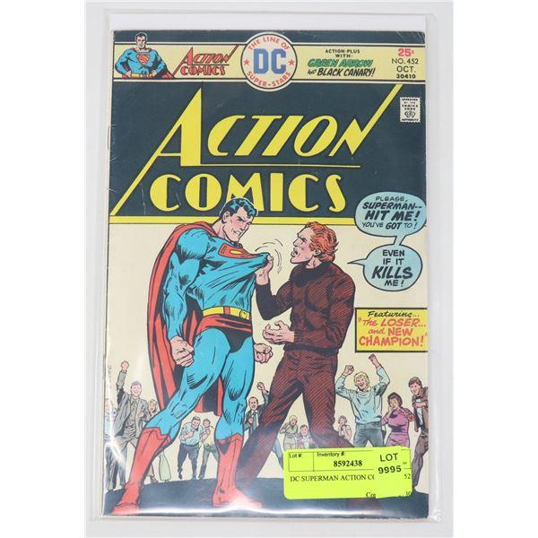 DC SUPERMAN ACTION COMICS # 452