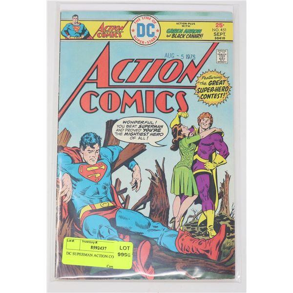 DC SUPERMAN ACTION COMICS # 451
