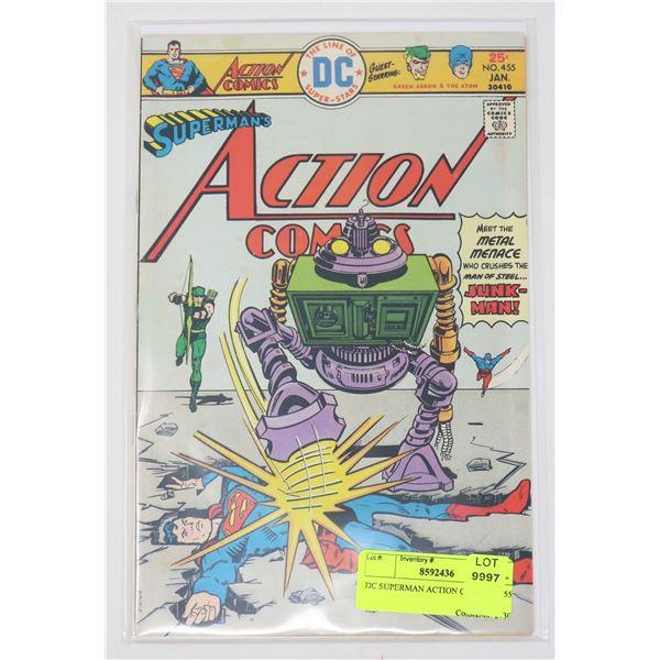 DC SUPERMAN ACTION COMICS # 455