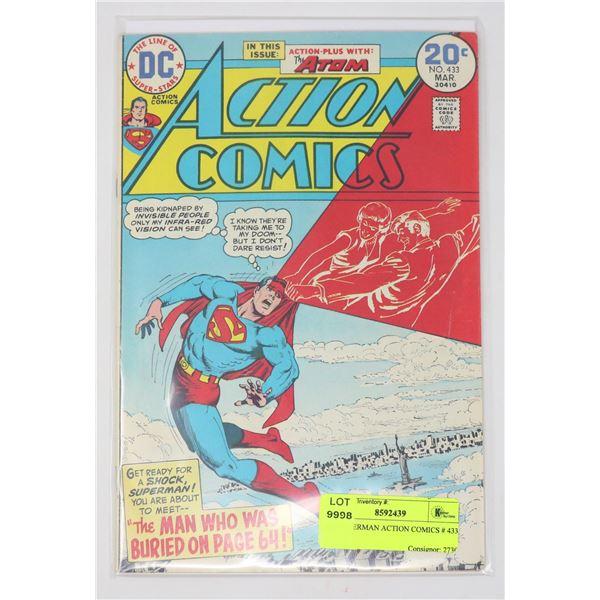 DC SUPERMAN ACTION COMICS # 433
