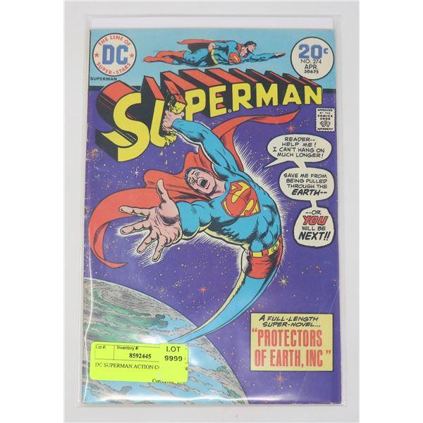 DC SUPERMAN ACTION COMICS # 274