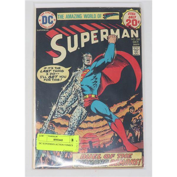 DC SUPERMAN ACTION COMICS # 280