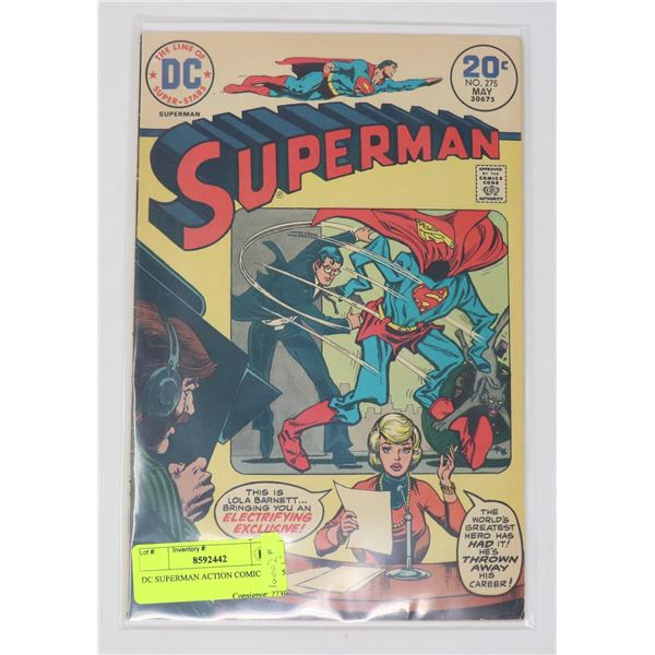 DC SUPERMAN ACTION COMICS # 275