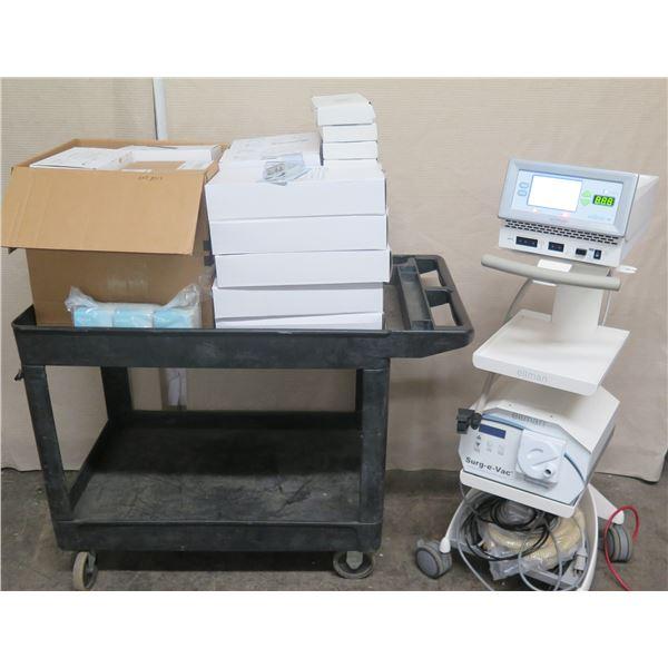 Ellamn S5RF Electrosurgical Wrinkle Reduction System  w/ Surge-E-Vac
