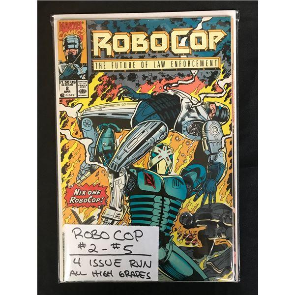 MARVEL COMICS ROBOCOP NO 2-5