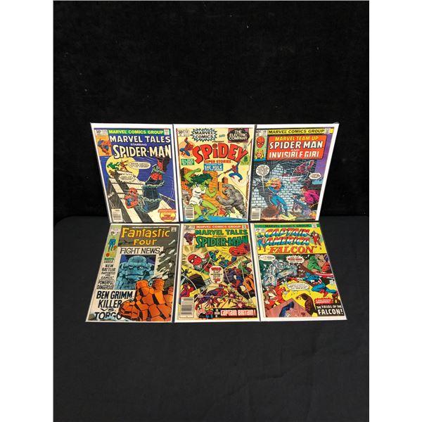 1BRONZE AGE SPIDER-MAN MARVEL COMIC BOOK LOT