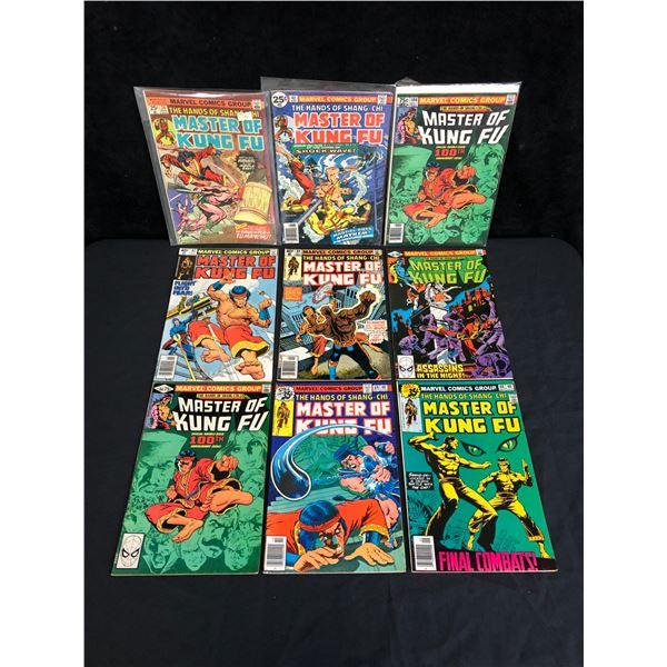 MASTERS OF KUN-FU (SHANG SHI) COMIC BOOK LOT