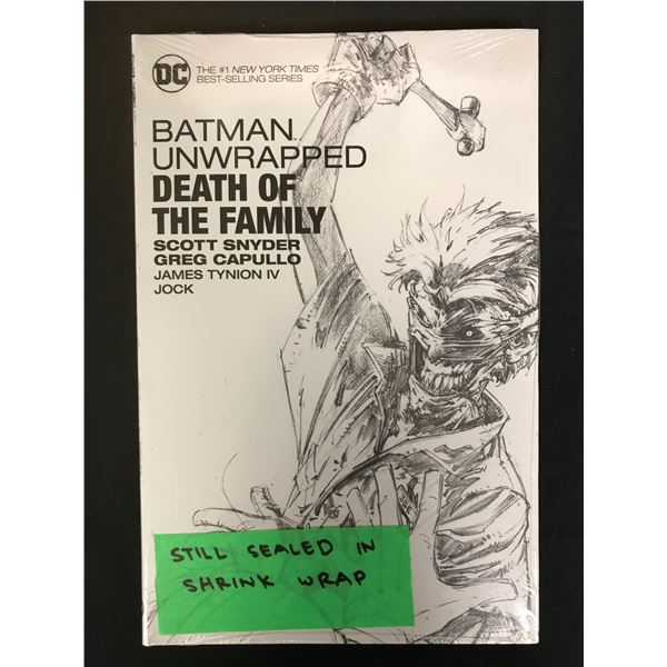 SEALED BATMAN UNWRAPPED DEATH IN THE FAMILY