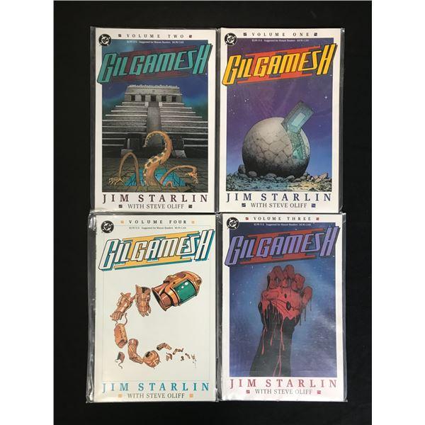 DC COMICS GILGAMESH COMIC BOOK LOT