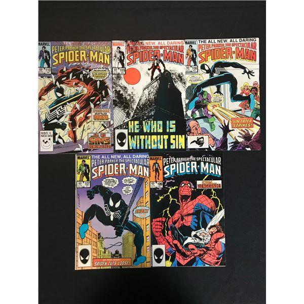 MARVEL COMICS SPIDER-MAN COMIC BOOK LOT
