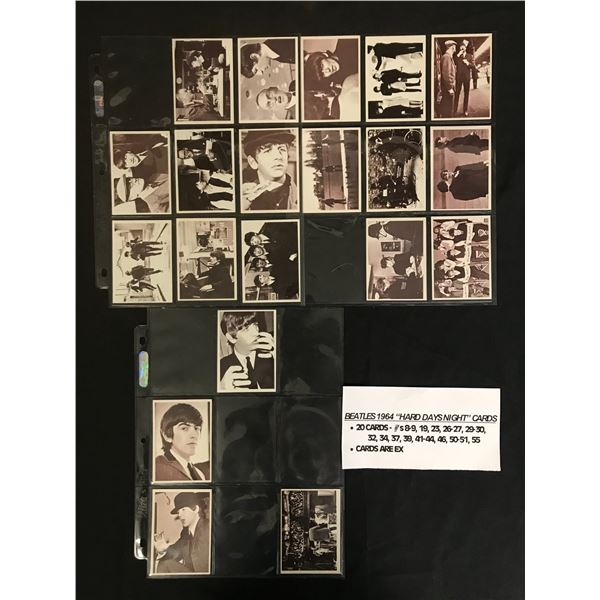 1964 BEATLES TRADING CARDS