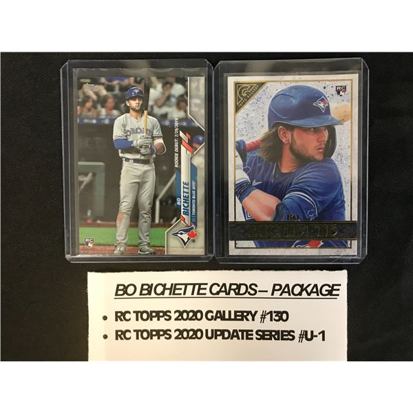BO BICHETTE TRADING CARDS PACKAGE