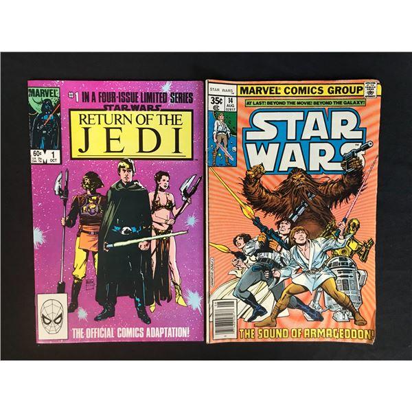 MARVEL COMICS STAR WARS COMIC BOOK LOT