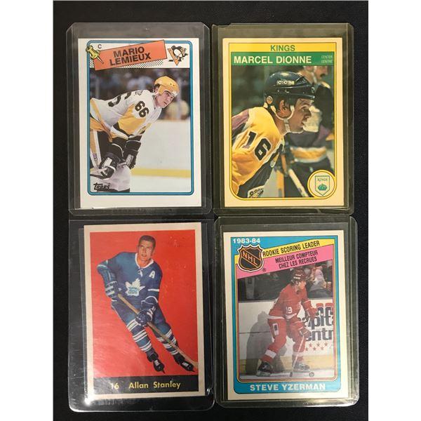 NHL VINTAGE STAR CARD LOT