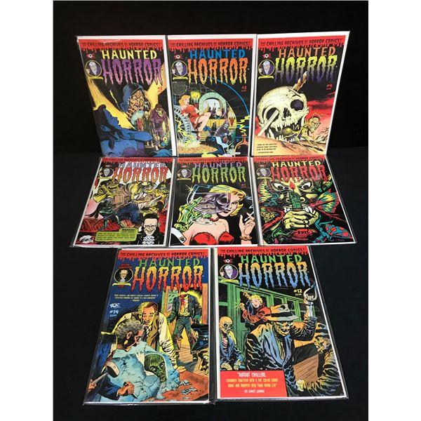 HAUNTED HORROR COMIC BOOK LOT
