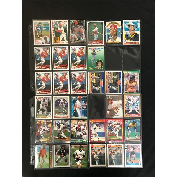 MLB STAR CARD LOT