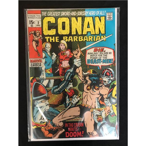 MARVEL COMICS CONAN THE BARBARIAN NO.2