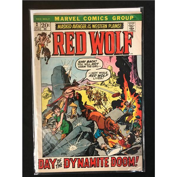 MARVEL COMICS RED WOLF NO.2