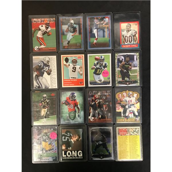 VARIOUS FOOTBALL STAR AND ROOKIE CARD LOT