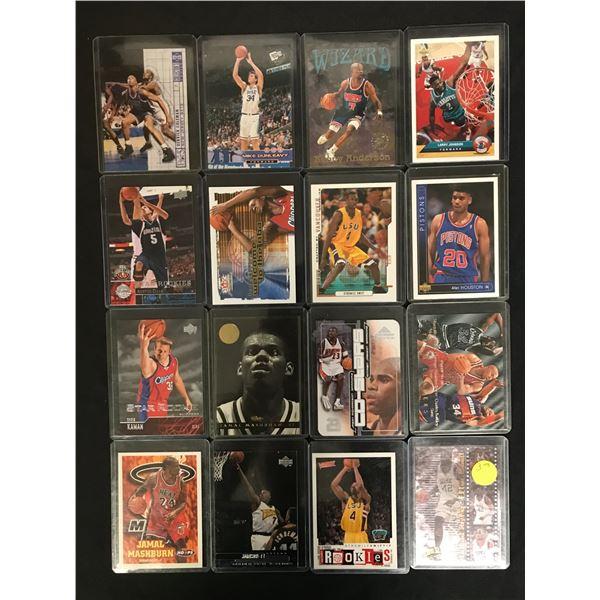 NBA BASKETBALL STAR CARD LOT
