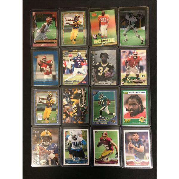NFL FOOTBALL STAR CARD LOT
