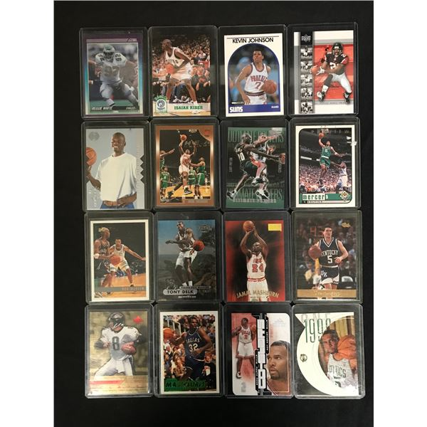 NFL AND NBA STAR CARD LOT