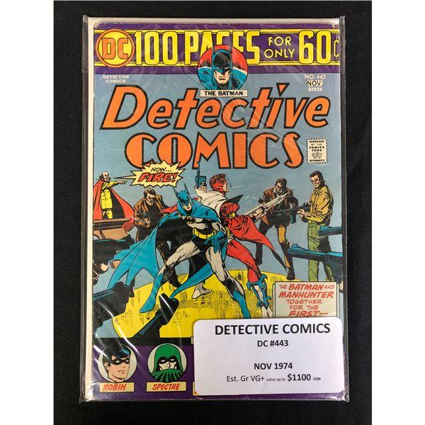 DC COMICS DETECTIVE 443