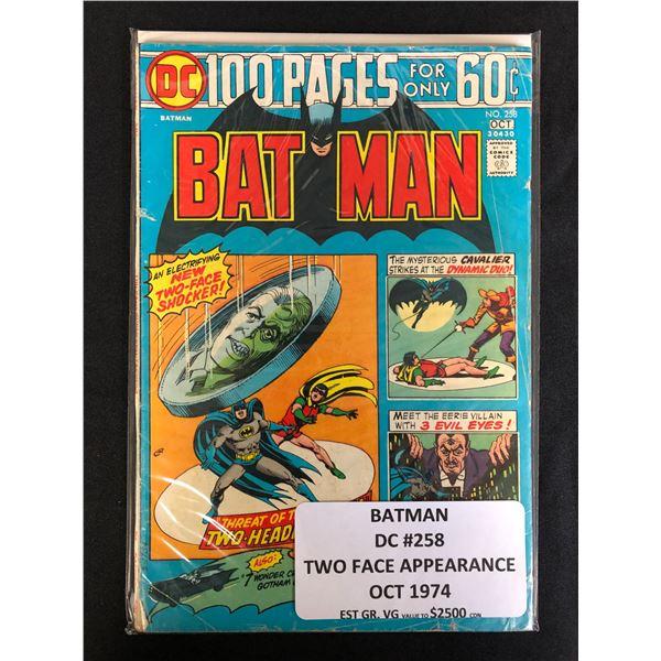 DC COMICS BATMAN NO. 258