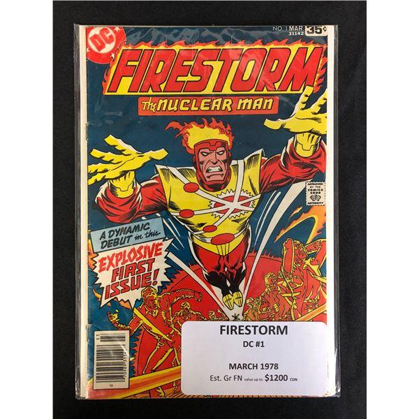 DC COMCIS FIRESTORM NO.1